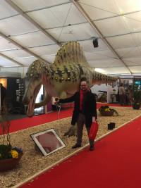 Den Dinosaurier im Griff - Vorgeschmack auf die Landtagsarbeit!