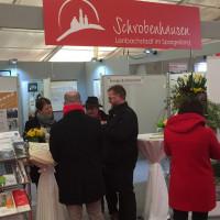 Am Stand der Stadt Schrobenhausen